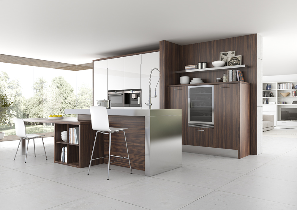 Modelo de cocina Artea de Induo Collection