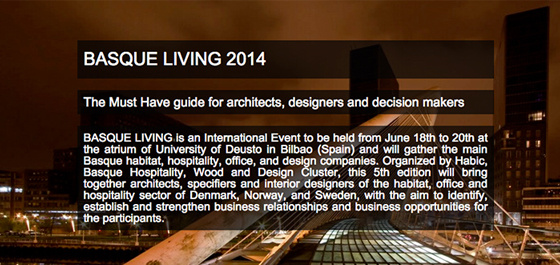 basque living 2014 induo collection destacada