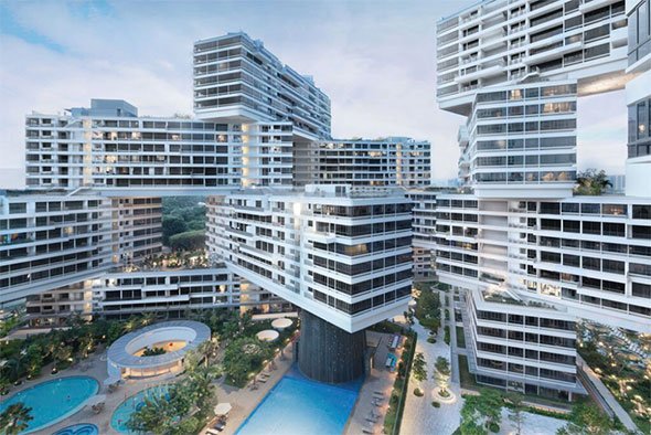 The Interlace diseñado por OMA / Buro Ole Scheeren